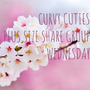 Tops - 3/20 PLUS SHARE GROUP: Curvy Cuties